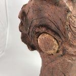 Untitled #1005 glazed clay sculpture