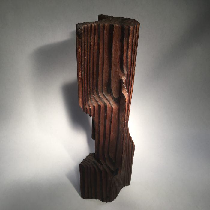 Untitled #1015 Burnt Wood Sculpture