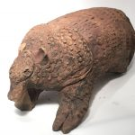 Untitled #1068 unglazed clay sculpture