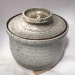 Untitled #1075 lidded stoneware bowl (sold)
