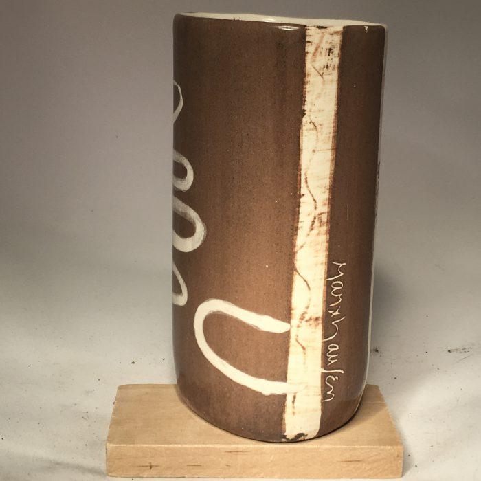 Untitled #1085 glazed porcelain vase (sold)