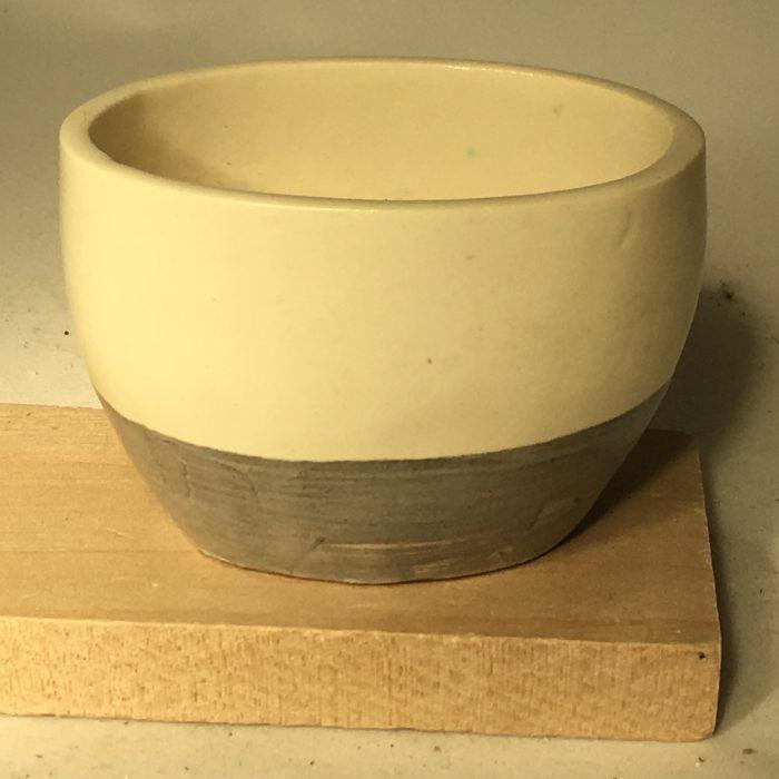 Untitled #1091 small glazed porcelain bowl (set of 4)