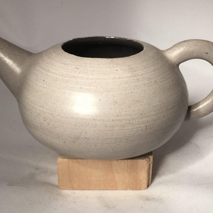Untitled #1103 glazed stoneware teapot