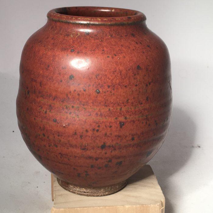 Untitled #1104 glazed stoneware urn