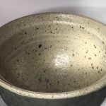 Untitled #1106 lidded stoneware bowl