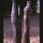Untitled #1187 thin necked stoneware vase (sold)