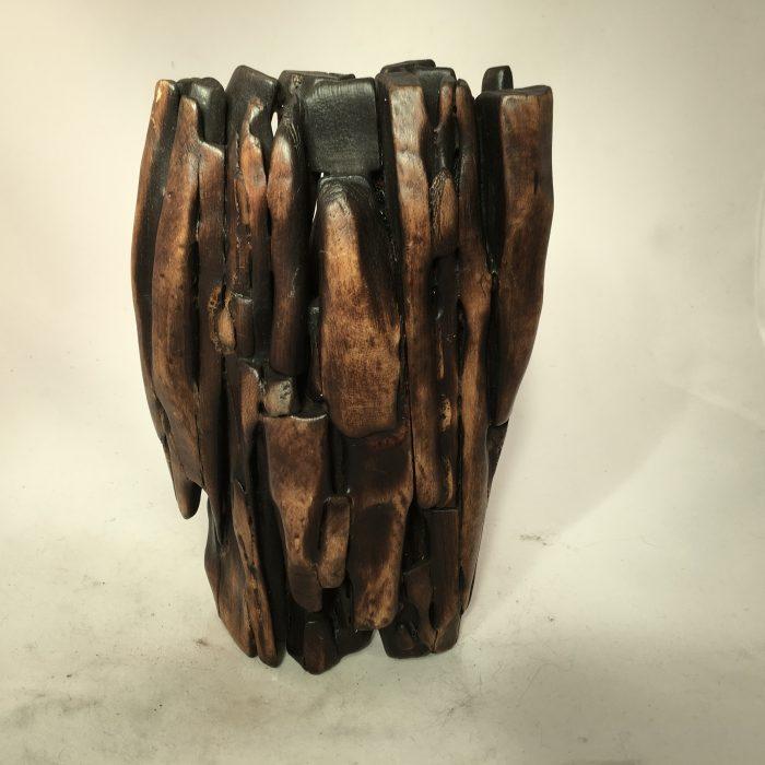 Untitled #1130 burnt wood organic