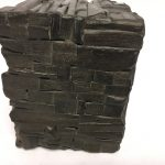 Untitled #1149 burnt wood cube (sold)