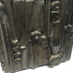 Untitled #1153 burnt wood cube (sold)
