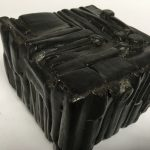 Untitled #1158 burnt wood cube (sold)