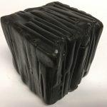 Untitled #1161 burnt wood cube