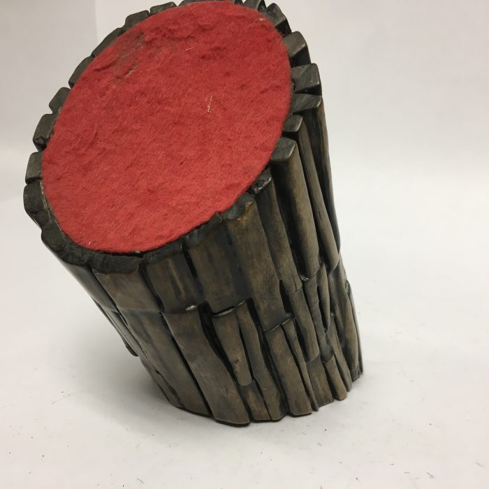 Untitled #1164 burnt wood cylinder