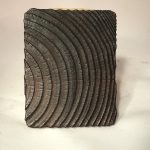 Untitled #1169 burnt wood slice (sold)