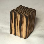 Untitled #1008 burnt wood solid (sold)