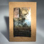 Untitled #1028 metal relief (sold)