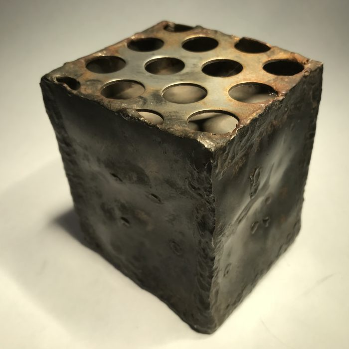 Untitled #2020 small Cosmic Cube sound scuplture