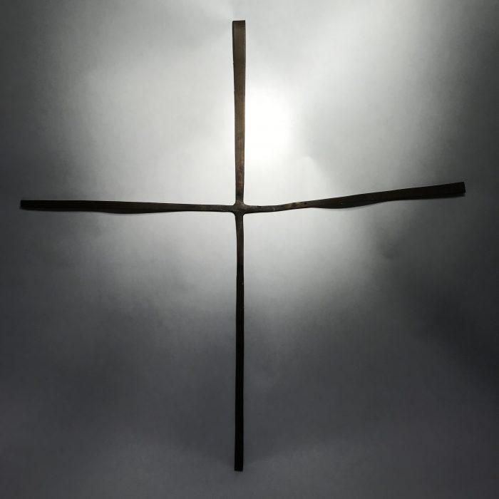 Untitled #1208 metal cross