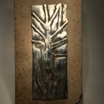 Untitled #1205 metal plaque