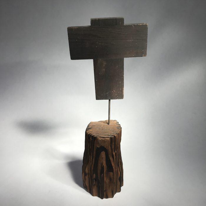 Untitled #1021 Wood Cross