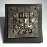 Untitled #2010 metal relief