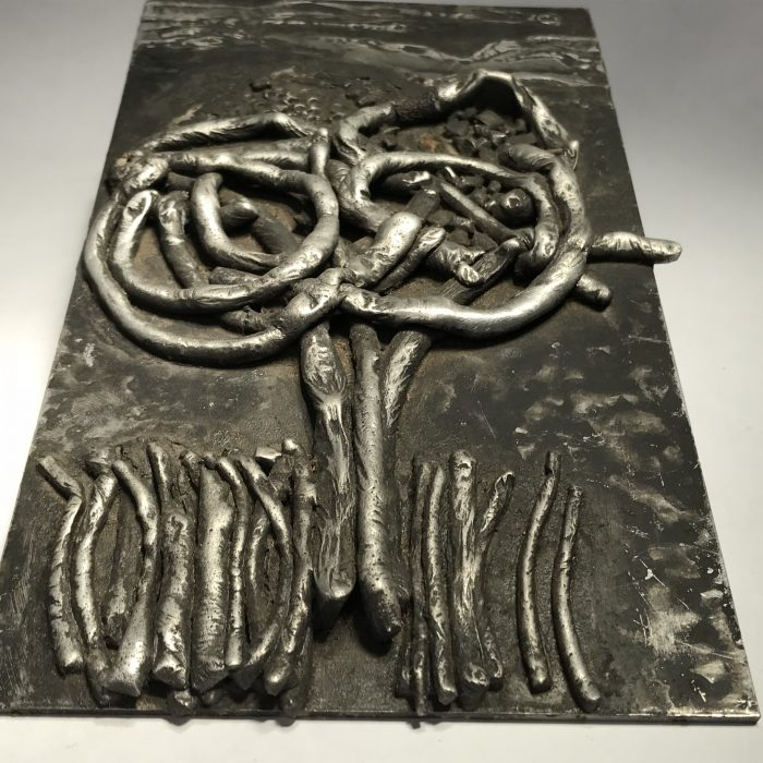 Untitled #1204 metal plaque
