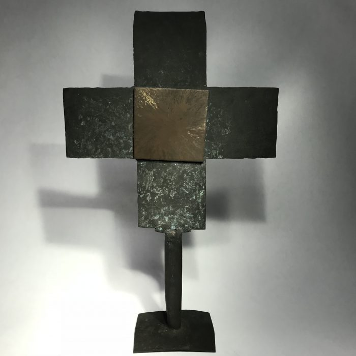 Untitled #1210 metal cross