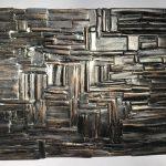 Untitled #2000 burnt wood plaque