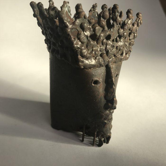 Untitled #1201 metal sculpture