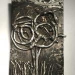Untitled #1204 metal plaque