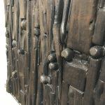 Untitled #2019 burnt wood plaque