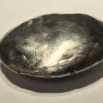 Untitled #1231 medium silvered Stardust sound sculpture