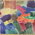 Untitled #1257 Watercolor Study #2 (sold)