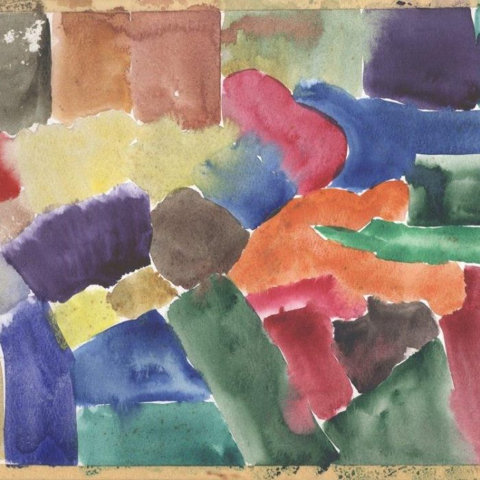 Untitled #1256 Watercolor Study #1 (sold)